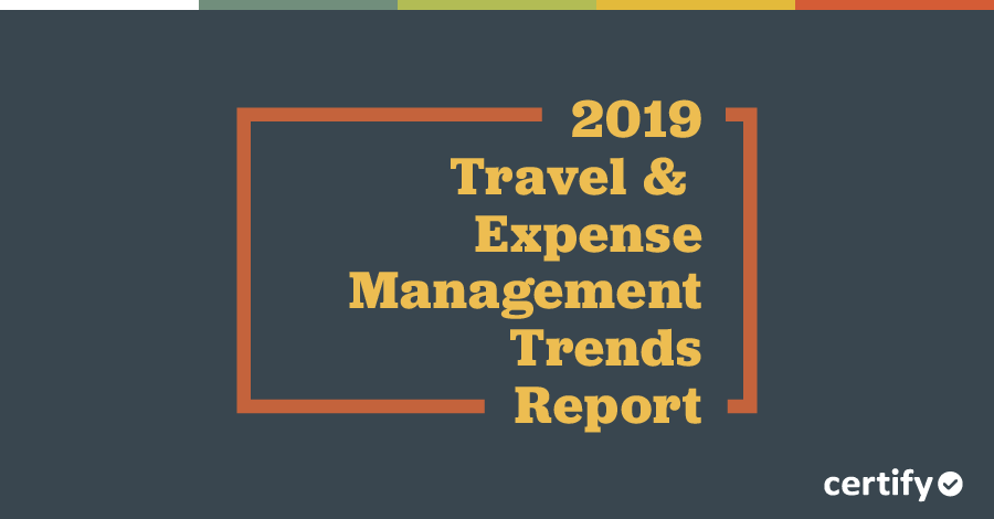Key Findings of the 2019 T&E Management Trends Report