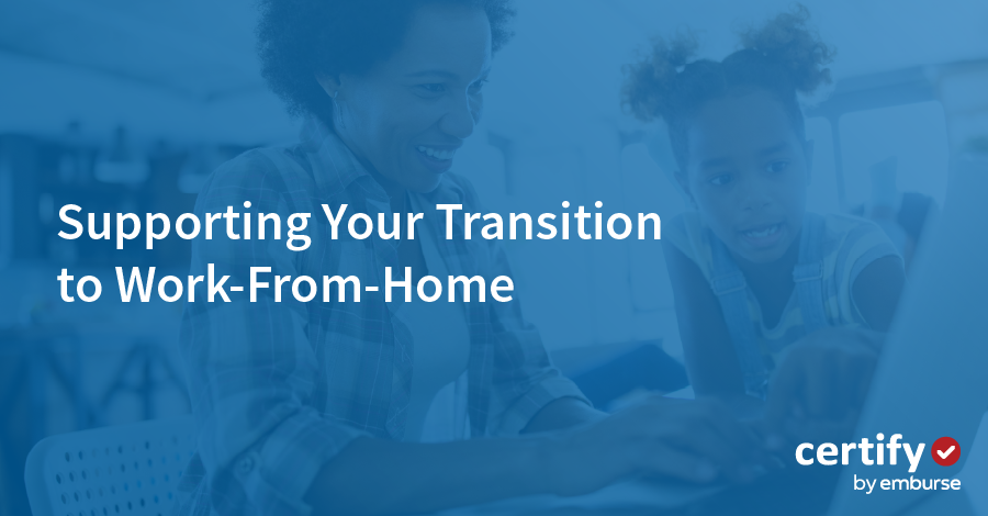 Supporting Your Organization's Temporary Transition to Work-from-Home