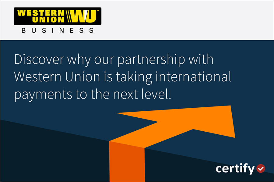 Taking our newest partnership with Western Union to the next level