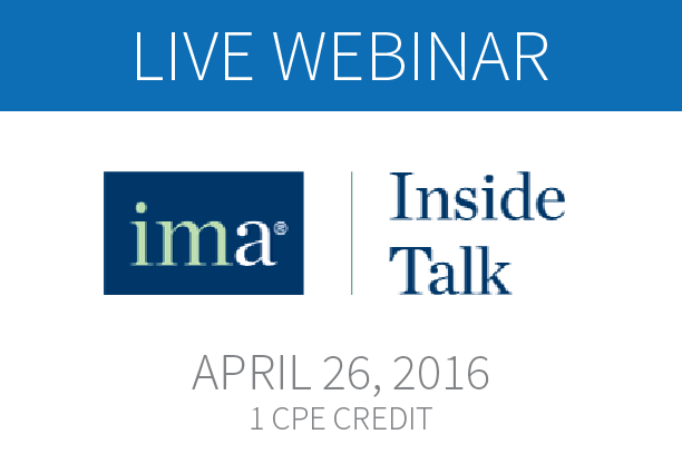 New Webinar from Certify and IMA Explores T&E Expense Management Trends and Benchmarks