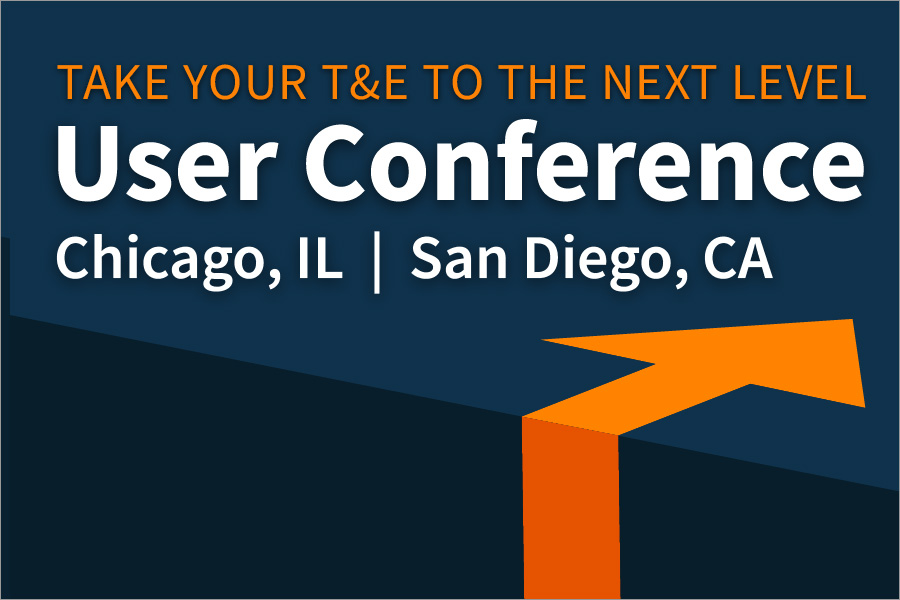 Take your T&E to the next level at Certify's 2018 User Conferences