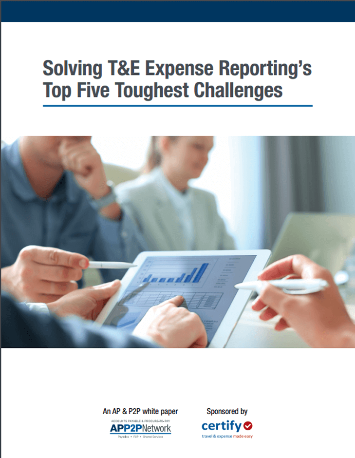 White Paper: Solving T&E Expense Reporting's Top Five Toughest Challenges