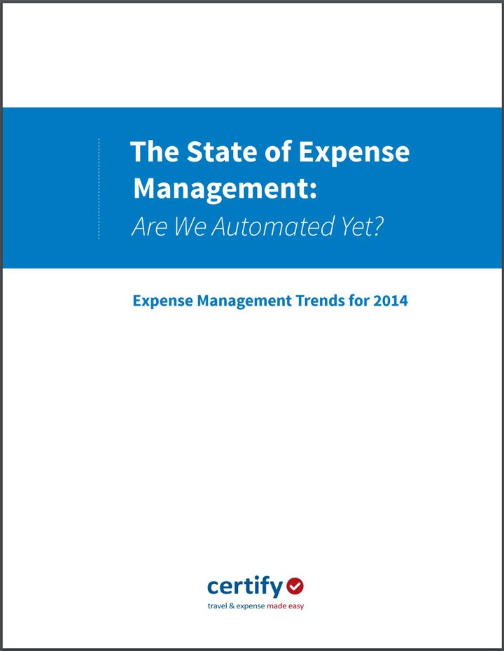 The State of Expense Management: Are We Automated Yet?