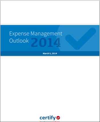 Expense Management Outlook 2014