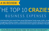 These crazy (approved) business expenses will inspire you to think big on your next expense report