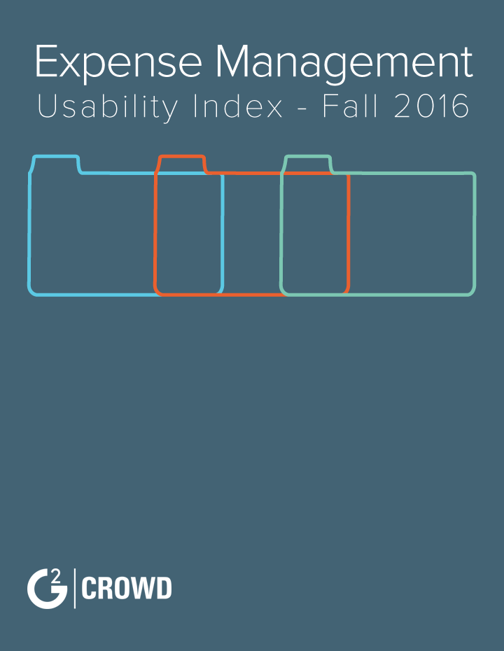 G2 Crowd's Expense Management Usability Index - Fall 2016
