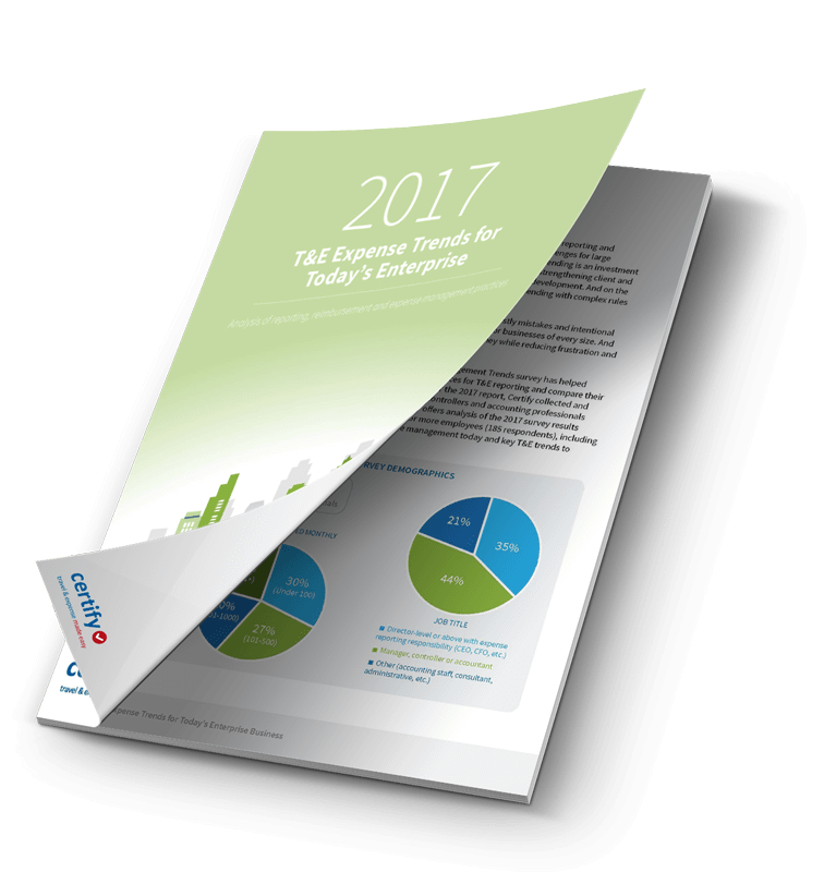 2017 T&E Expense Trends for Today's Enterprise