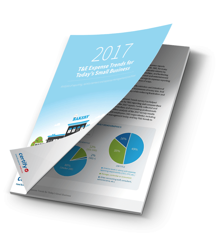 2017 Travel and Expense Trends Report SMB