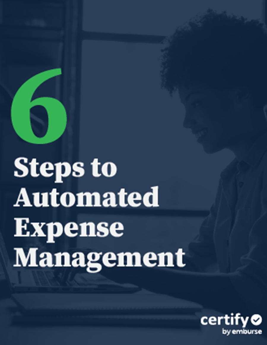 6 Steps to Automated Expense Management