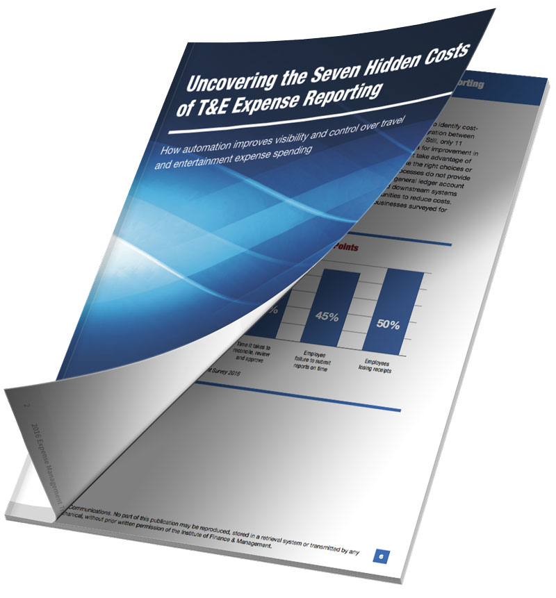 7 Hidden Costs of T&E Expense Reporting