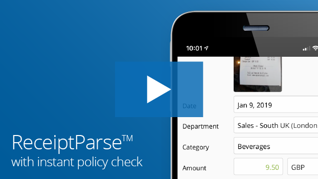 Certify Mobile ReceiptParse UK