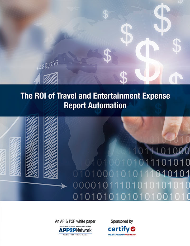 The ROI of Travel and Entertainment Expense Report Automation