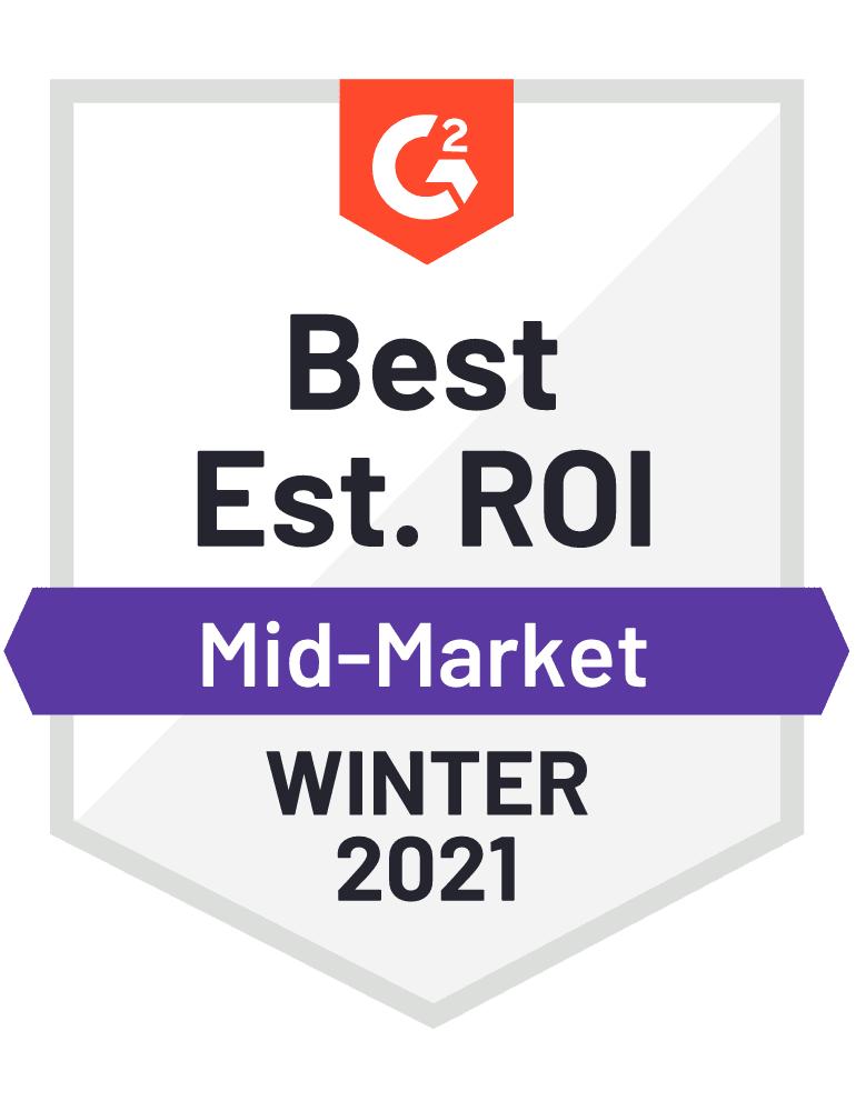 Best ROI Mid-Market Winter 2021