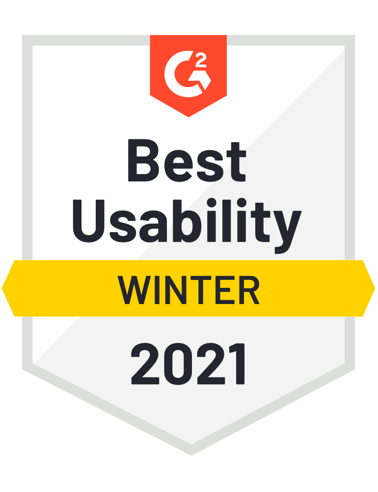 Best Usability Winter 2021