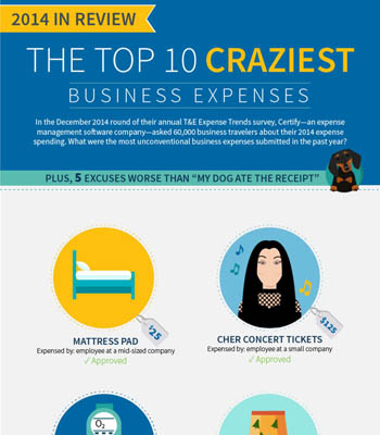 The Top 10 Craziest Business Expenses of 2014