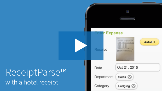 Certify Mobile ReceiptParse Marriot