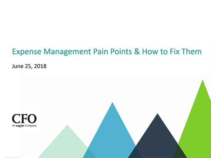 Webinar: Expense Management Pain Points & How to Fix Them
