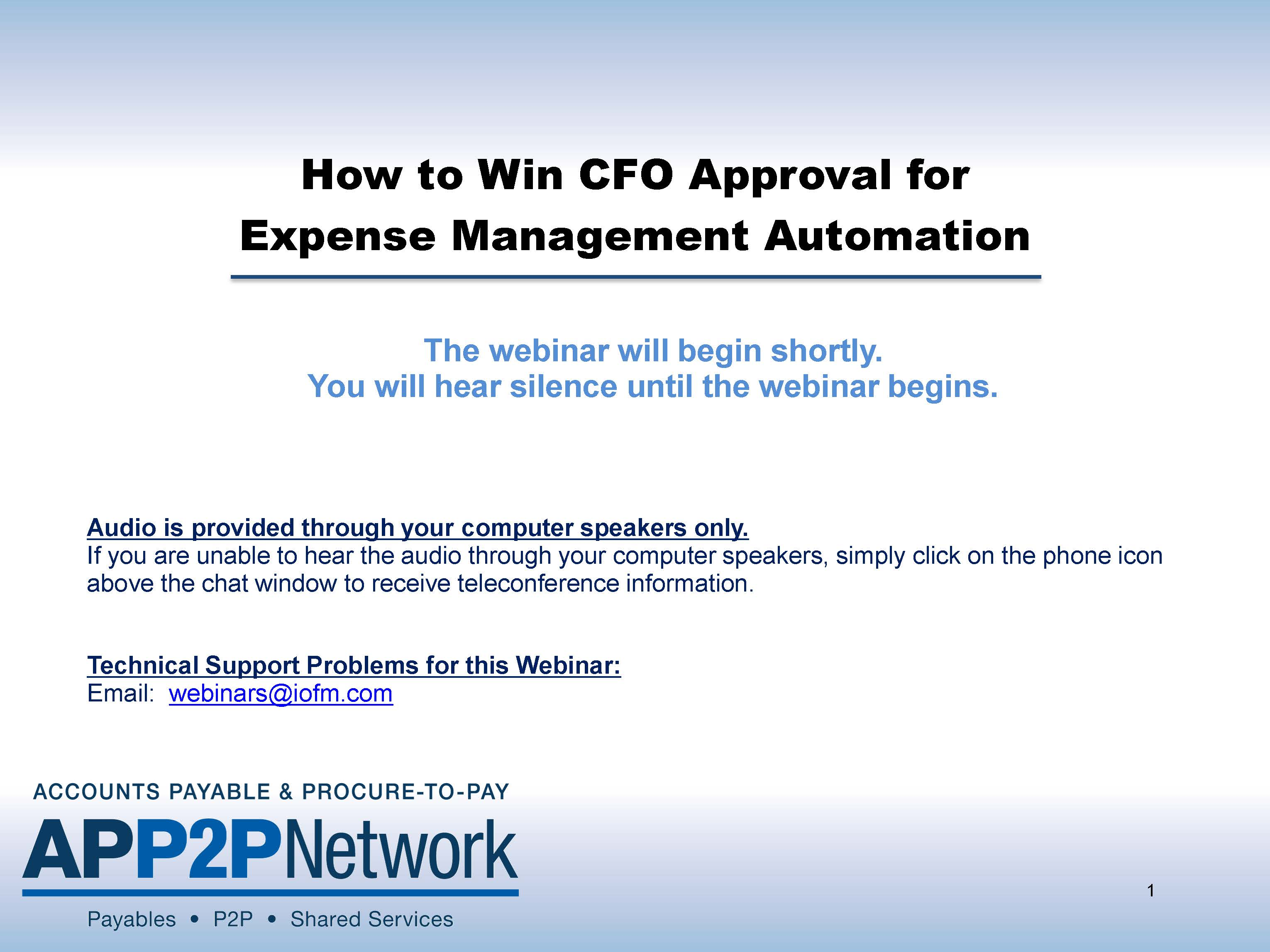 How to Win CFO Approval for Expense Management Automation