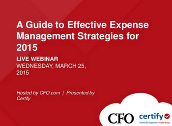 A Guide to Effective Expense Management Strategies for 2015