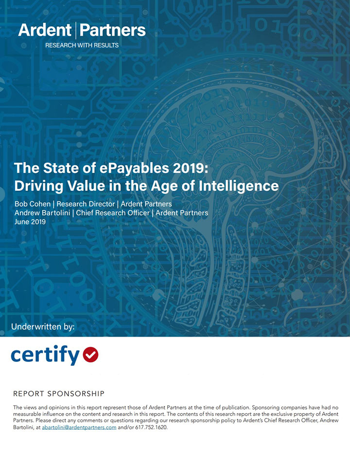 2019 State of ePayables