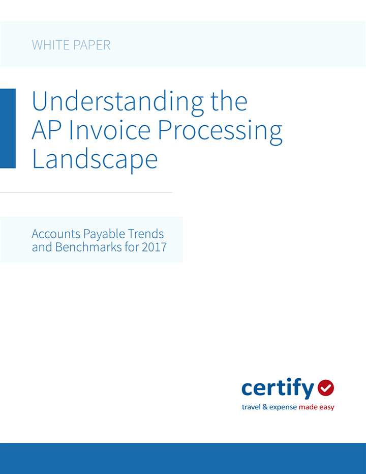 Understanding the AP Landscape: Trends and Benchmarks for 2017