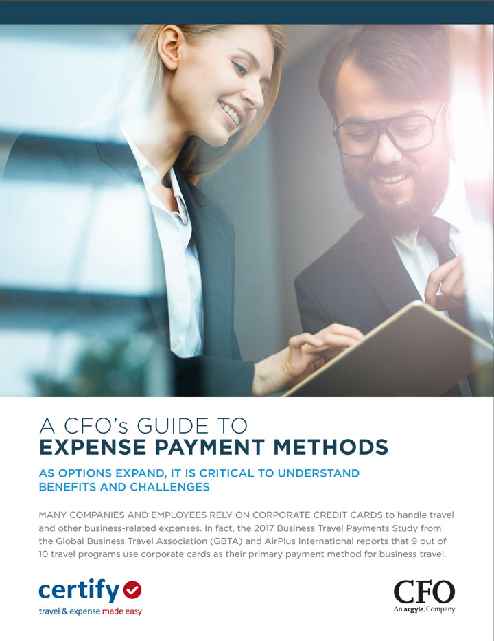 A CFO's Guide to Expense Payment Methods