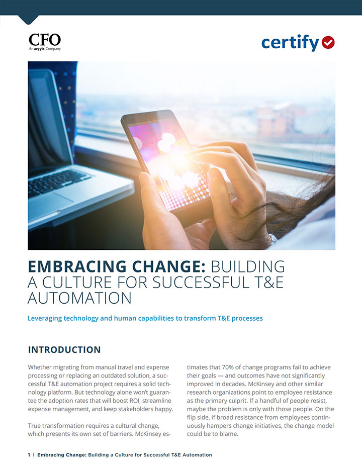 Embracing Change: Building a Culture for Successful T&E Automation