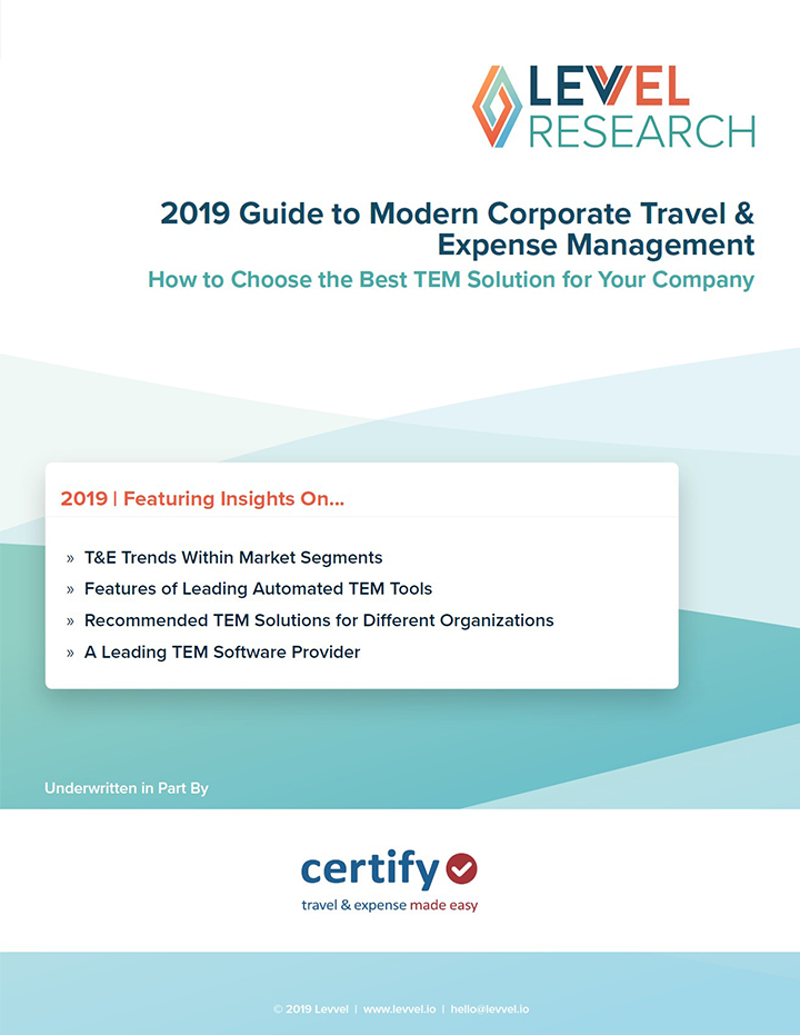 2019 Guide to Modern Corporate Travel & Expense Management