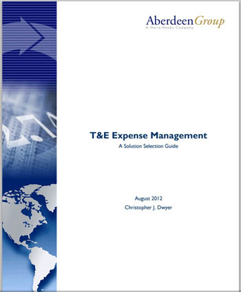 T&E Expense Management: A Solution Selection Guide