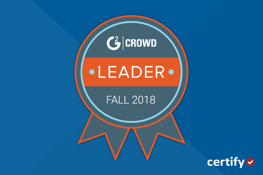Certify Emerges as G2 Crowd Momentum Leader