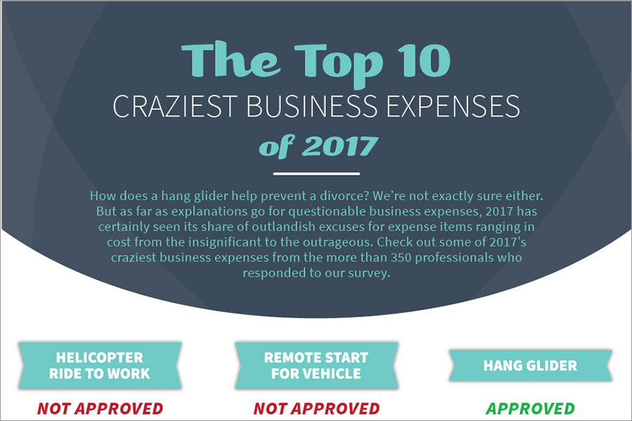 The Top 10 Craziest Business Expenses of 2017