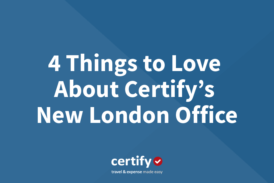 4 Things to Love About Certify's New London Office