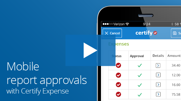 Certify Mobile Approval