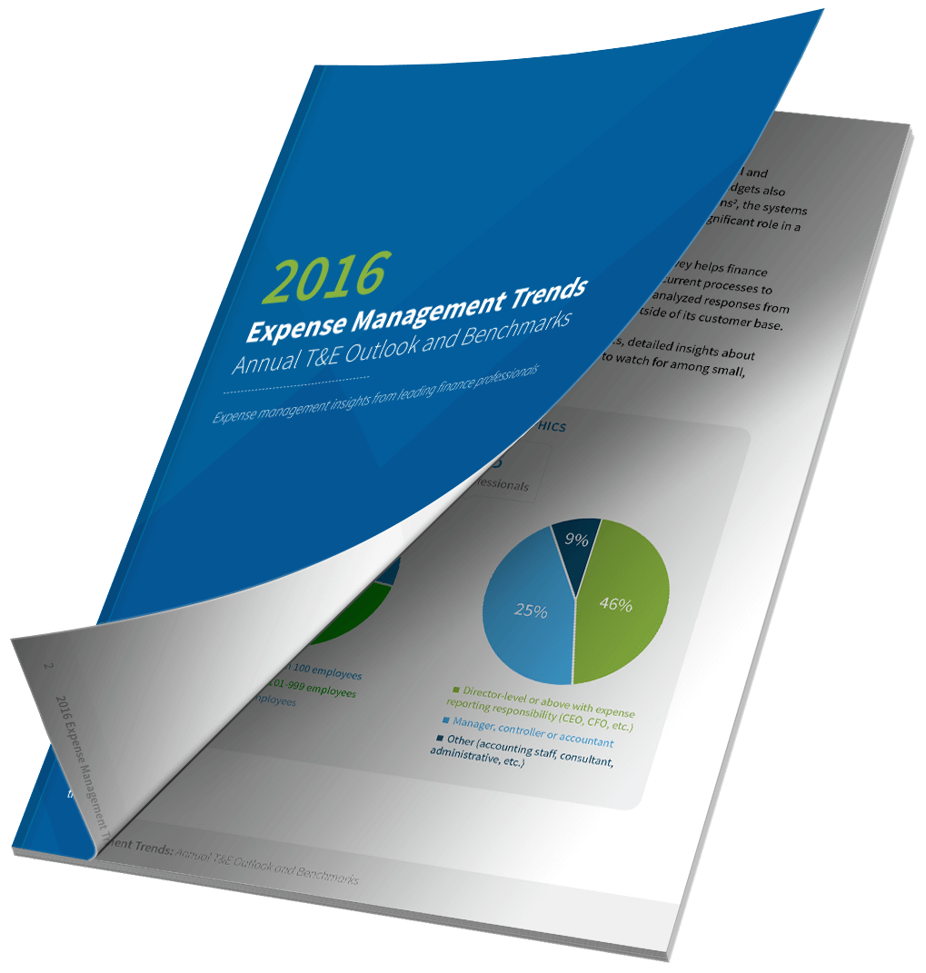 2016 Expense Management Trends Report