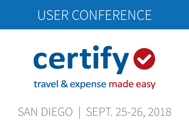 Certify User Conference in San Diego