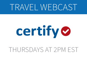 Certify Enterprise Travel Product Demo Webcast: Thursdays at 3PM EST