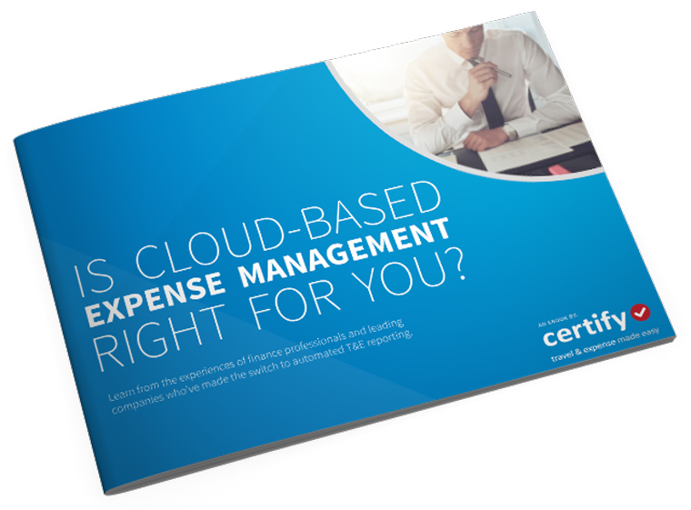 Is cloud-based expense management right for you?