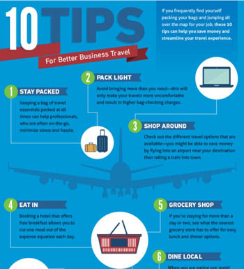 10 Tips For Better Business Travel