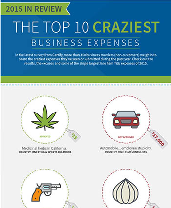 The Top 10 Craziest Business Expenses
