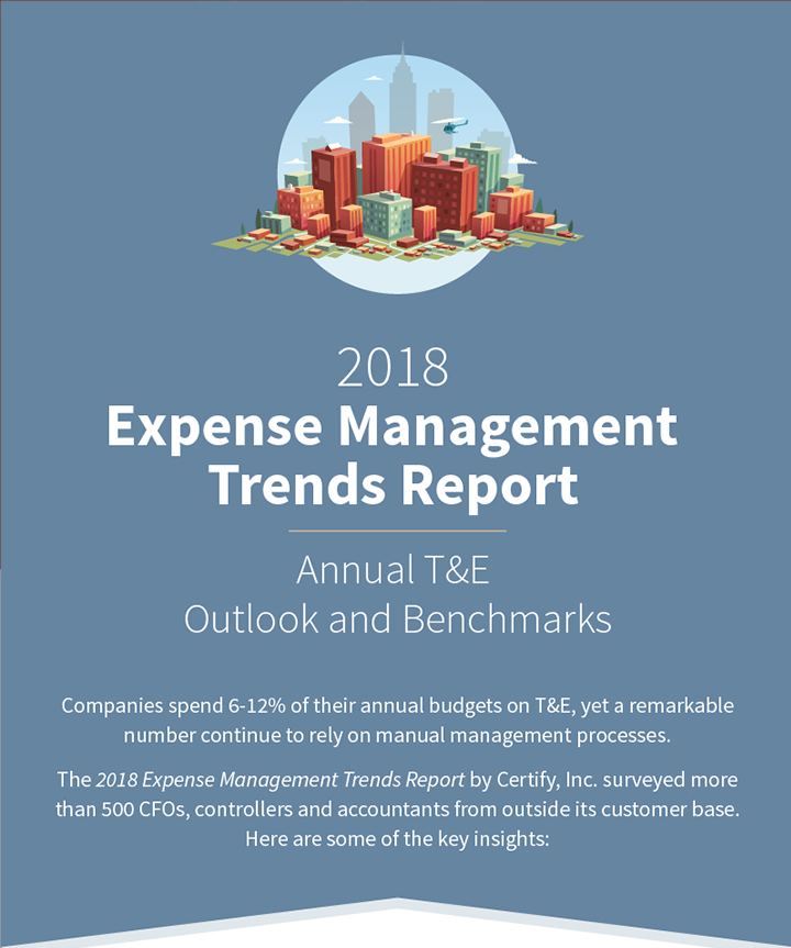 2018 Expense Management Trends Report