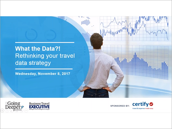 What the Data?! Rethinking Your Travel Data Strategy