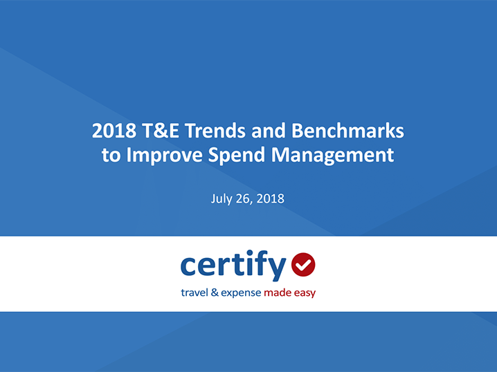 2018 Expense Management Trends: How Will They Affect Your Company