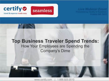 Top Business Traveler Spend Trends in 2013
