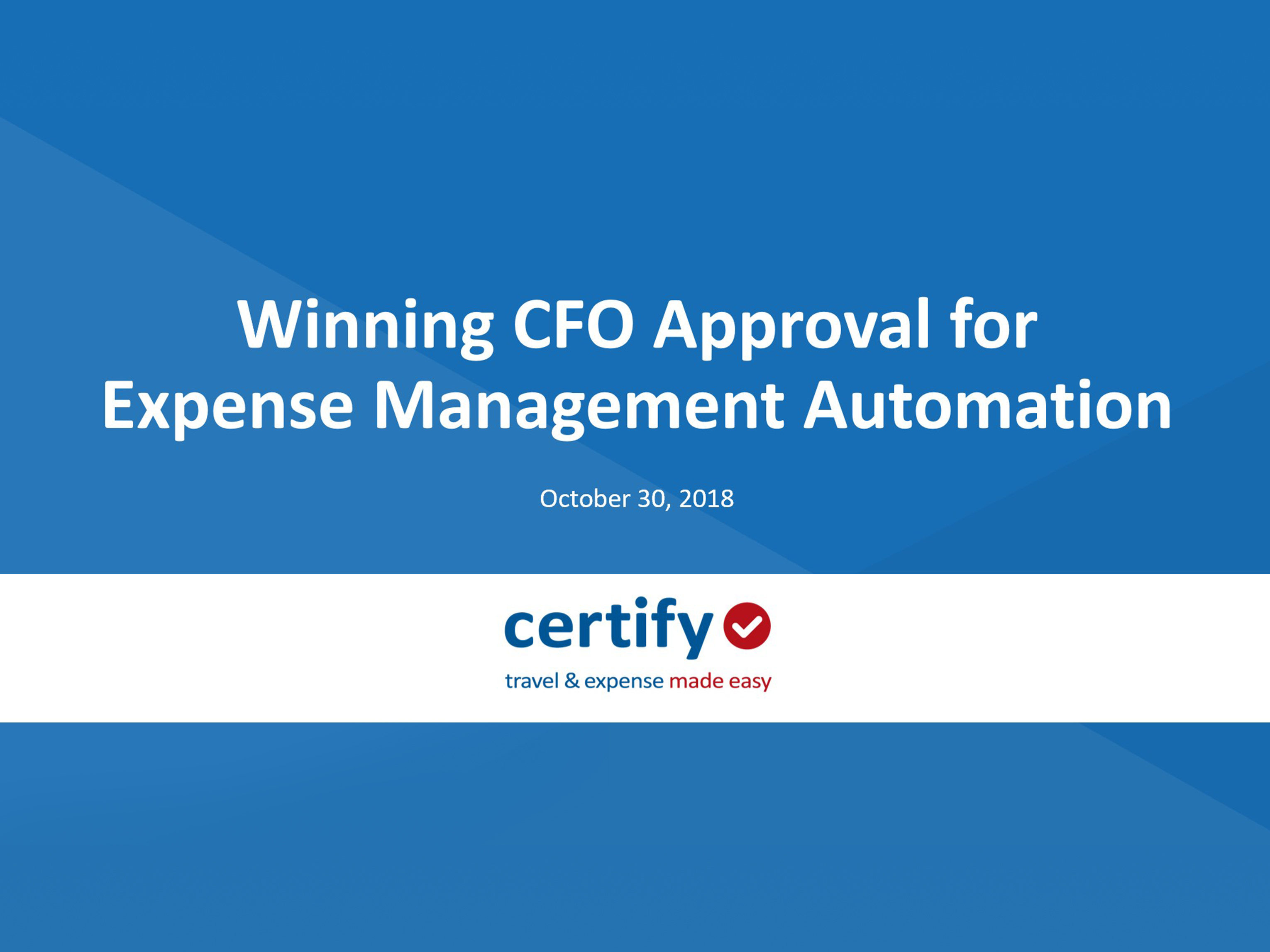 Winning CFO Approval for Expense Management Automation