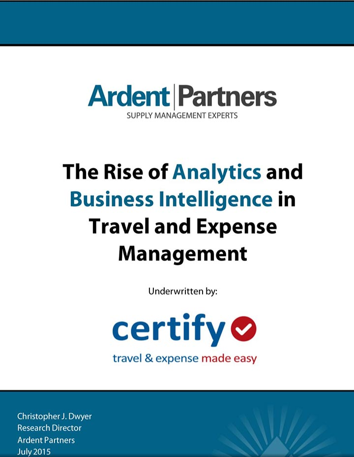 The Rise of Analytics & Business Intelligence in Travel & Expense Management